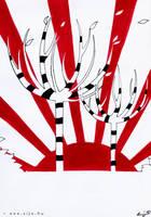 red.white.black: DAWN by Sheeyo