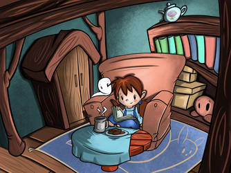 What'cha readin'? by Greenfinger