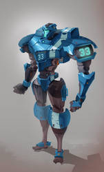 Cynisca Mech For GridIron by red--fox