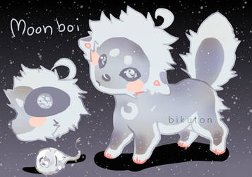 moon boi by bikuton