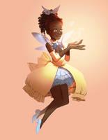 Magical girl again by Freiheit