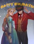 Happy holidays! by Freiheit