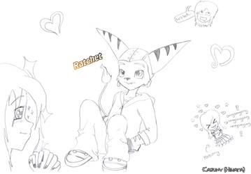 Ratchet fan version by KazumyHinata