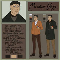 Reference Sheet: Meriwether Vargo by TenMomentsTill