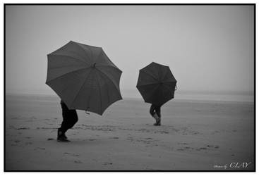Dancing Umbrellas by picturebyclay