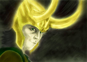 Loki by Morgan--K