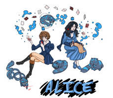 Alice and Suzan WiP by lonevision