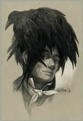 Raven haircut by Quberon
