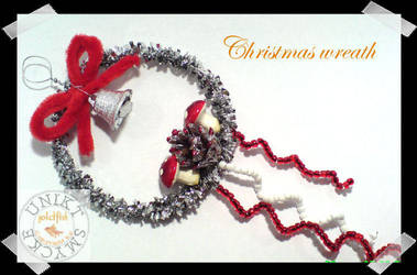 Christmas wreath by zlatnaribica