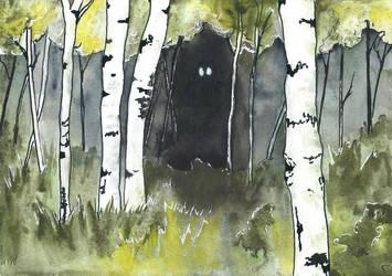 Darkness Lurking by DundalkChild