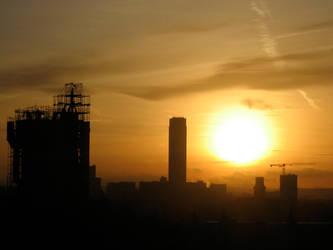 Paris Sunset by H-Meyer
