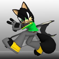 Zero the Wolf Riders V2 3D by Zero20-2
