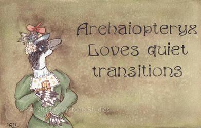 Archaiopteryx by greystonestudios