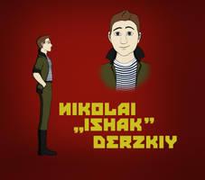 Nikolai Ishak Derzkiy by Tyranio
