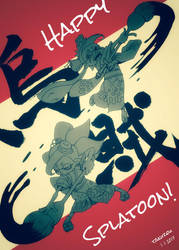 Happy! Splatoon! by ta-ku-zou