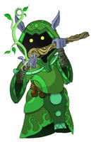 Shrubo of the Jade Council by happymonkeyshoes
