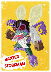 TMNT - Baxter Stockman V2 by happymonkeyshoes