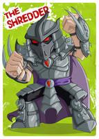 TMNT - The Shredder by happymonkeyshoes