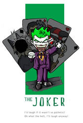 Batman Chibis - The Joker by happymonkeyshoes