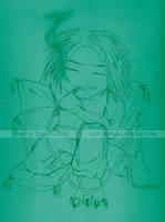 Sketch - Gene the Djinn by happymonkeyshoes