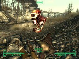 Fallout 3 - Funny Glitch by Half-dude