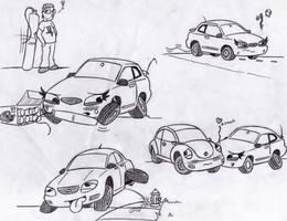 Random Doodles by Half-dude