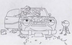 Car-Wash Pinky by Half-dude
