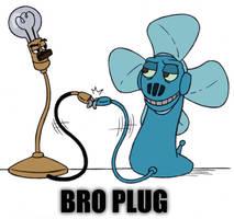BRO-PLUG by Half-dude