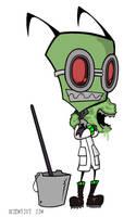 Vort scientist Zim by Half-dude