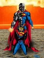 Cyborg vs Eradicator by FAH3