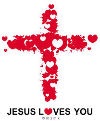 Jesus Loves you by mxmx