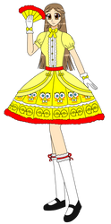 Fancy And Pretty Dress (SpongeBob Style) by NinjaStooge