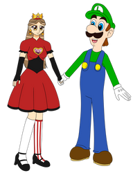 Eda And Luigi - Romance by NinjaStooge