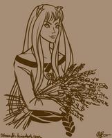 Sketchswap--Harvest God (for totalIMMORTAL220) by SAmaryllis