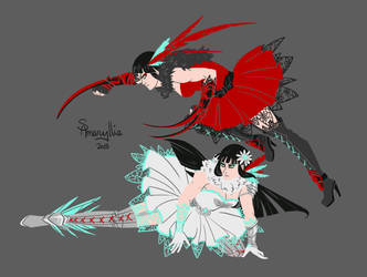 RWBY--Double Threat by SAmaryllis