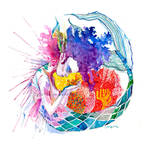 Mermaid colors by ArtbyGloriaColom