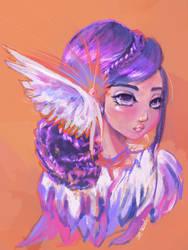 Non-Inspiration by ArtbyGloriaColom