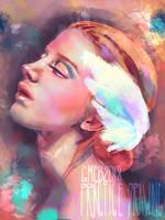 2018.11.22 - Portrait Practice by ArtbyGloriaColom