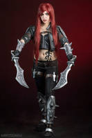 Katarina - League of Legends VI by FlorBcosplay