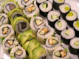 sushi by Dem0NR0ach