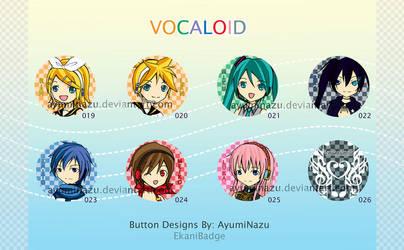 EkaniBadge: Vocaloid by AyumiNazu