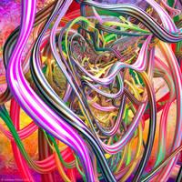 Entangled by Fractal-Kiss