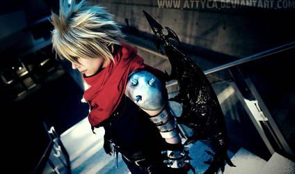Cloud Strife - Kingdom Hearts by Attyca