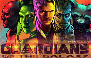 Guardians of the Galaxy by Attyca
