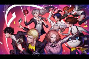 Persona 5 by Zolaida