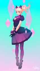 Black Cat D.Va by Zolaida