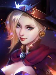 Witch Mercy by Zolaida