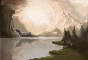 Landscape by Joey-B