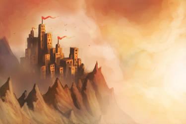 Speedpaint Fortress by Joey-B