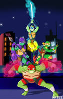 Rise of the TMNT by NATSZ